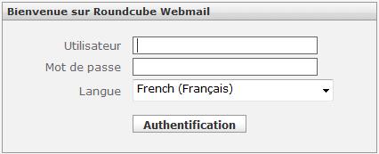 Gandi-net - Accès au webmail